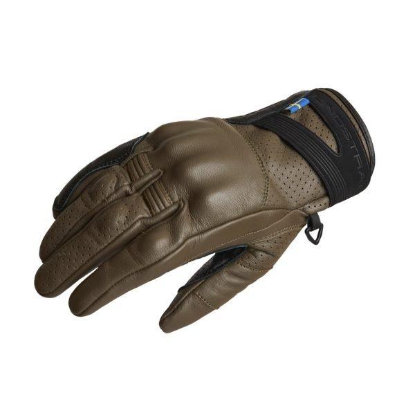 Lindstrands Holarna Gloves - Military Green colour