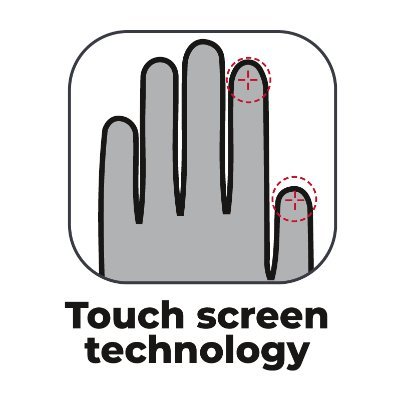 Lindstrands Holarna gloves - Touchscreen Technology, CMG