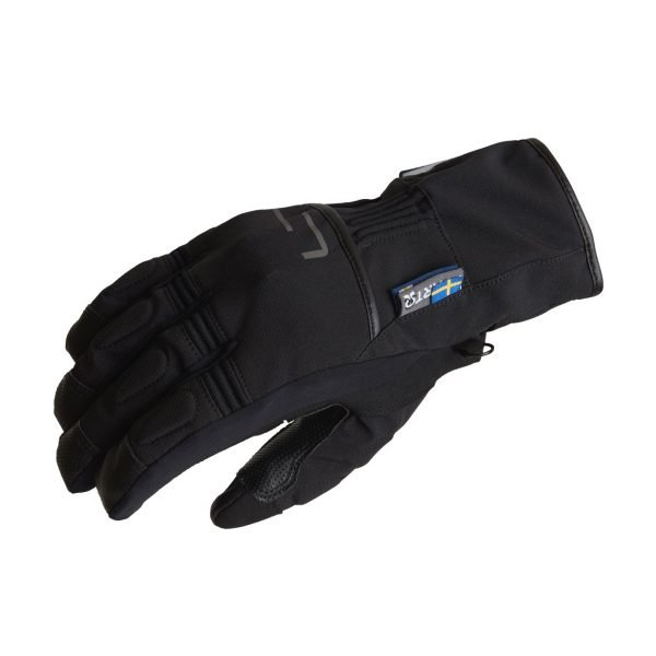 Lindstrands Lillmon Gloves - Black/Grey colour, MCS, Chelsea, London, UK