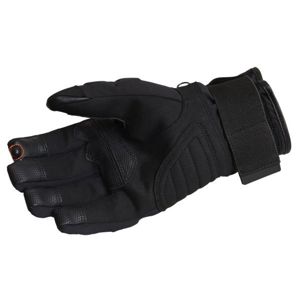 Lindstrands Lillmon Gloves - Black/Grey colour, palm