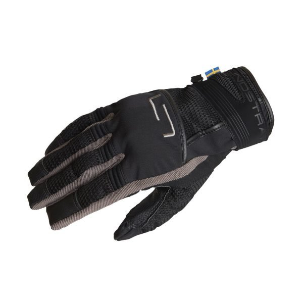 Lindstrands Nyhusen Gloves - Black/Grey colour, CMG Shop, Chelsea