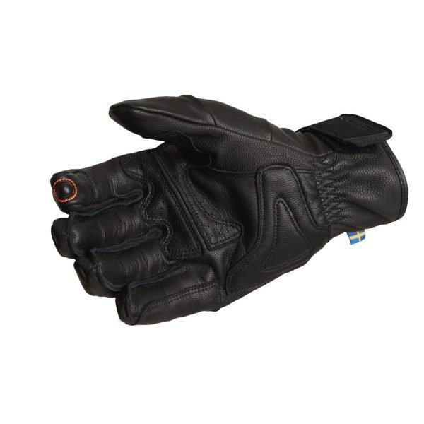 Lindstrands Vindeln Gloves - Black colour, Chelsea Motorcycles, UK, London