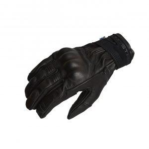 Lindstrands Vindeln Gloves - Black colour, back view, MCS (CMG Shop)