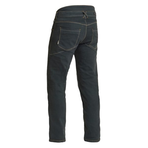 Lindstrands Hemse Jeans - Black colour, back, MCS