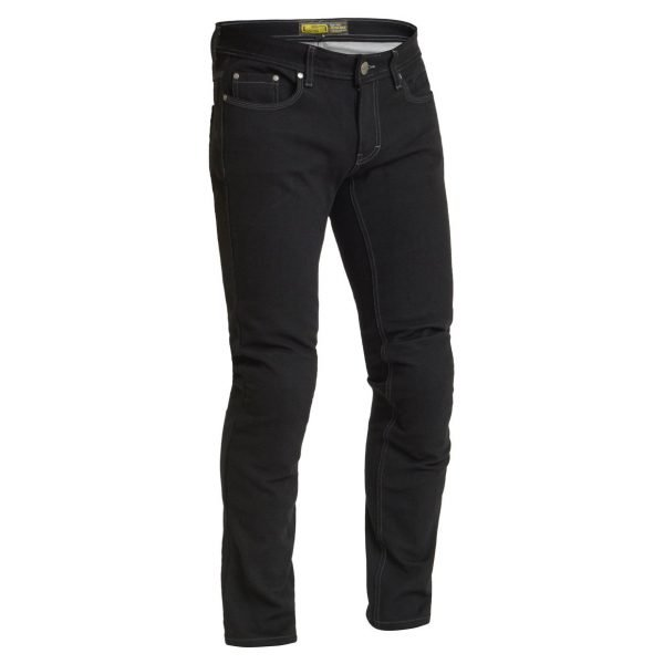 Lindstrands Lund Jeans - Black colour, Motorcycle Clothing Shop