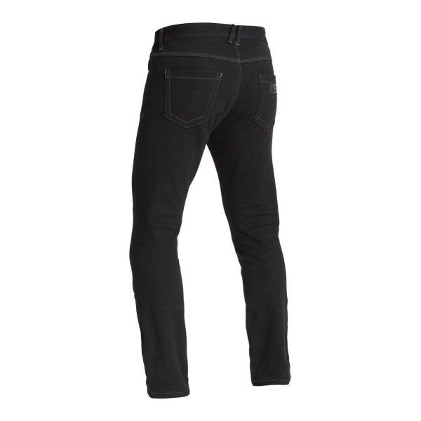 Lindstrands Lund Jeans - Black colour, back view