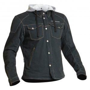 Lindstrands Bjurs Textile Jacket - Black colour, MCS, London