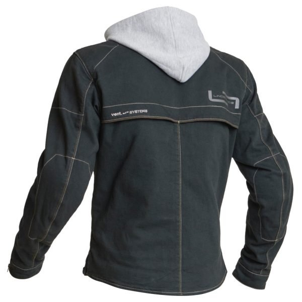 Lindstrands Bjurs Textile Jacket - Black/Back colour, Motorcycles Clothing Shop