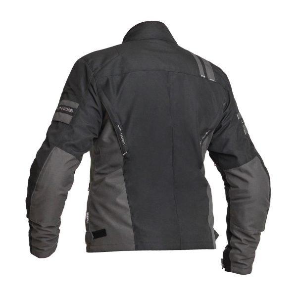 Lindstrands Liden Women Textile Jacket - Black colour, back view