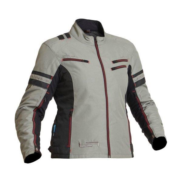 Lindstrands Liden Women Textile Jacket - Fog colour