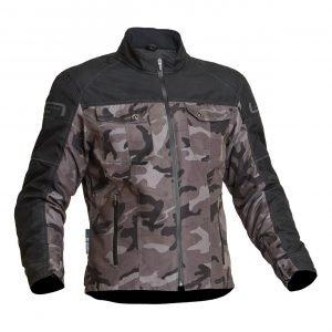 Lindstrands Lugnet Textile Jacket - Camo colour, Motorbike Clothing Shop, UK