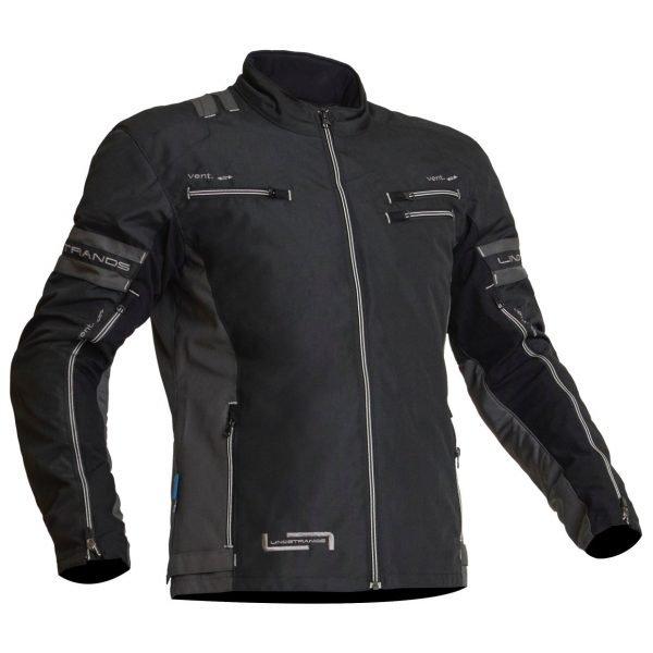 Lindstrands Lysvik Textile Jacket - Black colour, MCS Shop