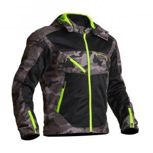 Lindstrands Rexbo Textile Jacket - Camo:Yellow colour, Chelsea shop