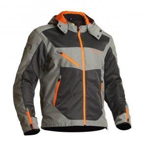 Lindstrands Rexbo Textile Jacket - Grey:Orange Lining, MCS