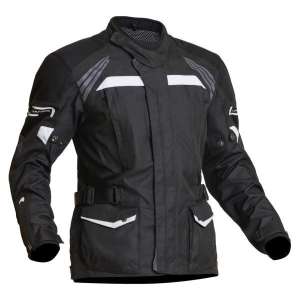 Lindstrands Transtrand Textile Jacket - Black/White colour