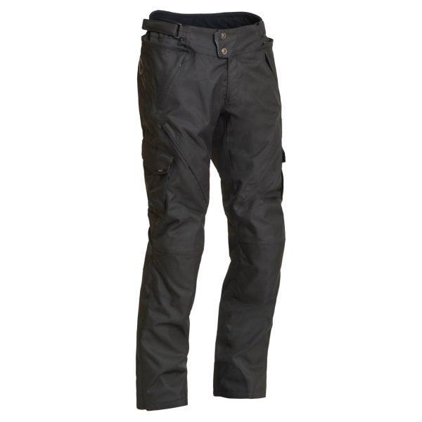 Lindstrands Berga Textile Pants - Black colour