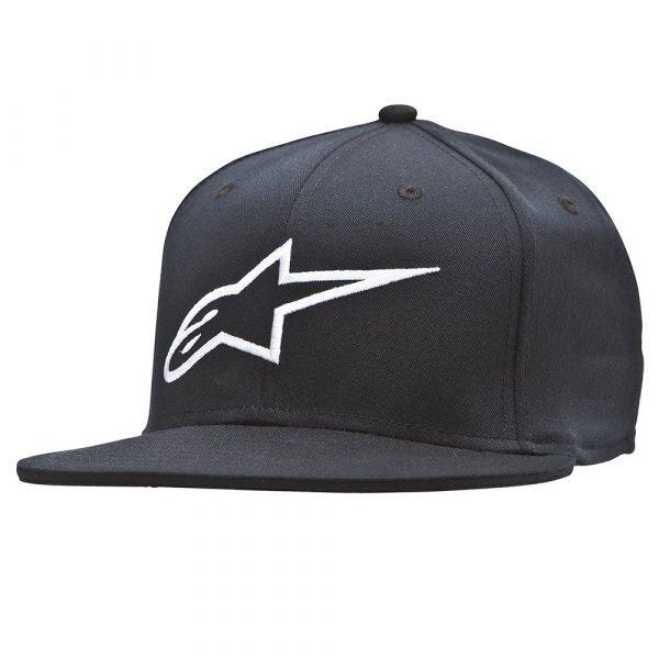 Alpinestars Ageless Flat Hat - Black/White colour