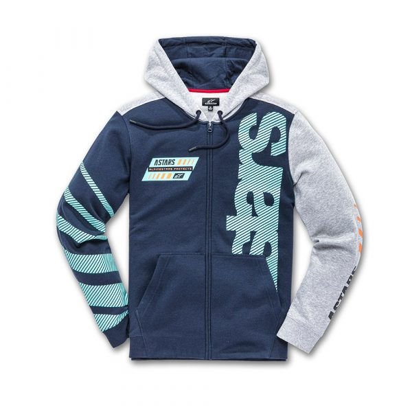 Alpinestars Fan Club Fleece - Navy/Grey Heather colour
