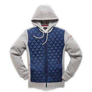 Alpinestars Method Hybrid Fleece – Navy colour, Motorcycles Clothing Shop