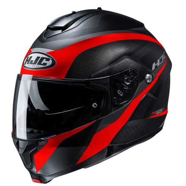 HJC C91 Helmet - Taly Red colour, MCS
