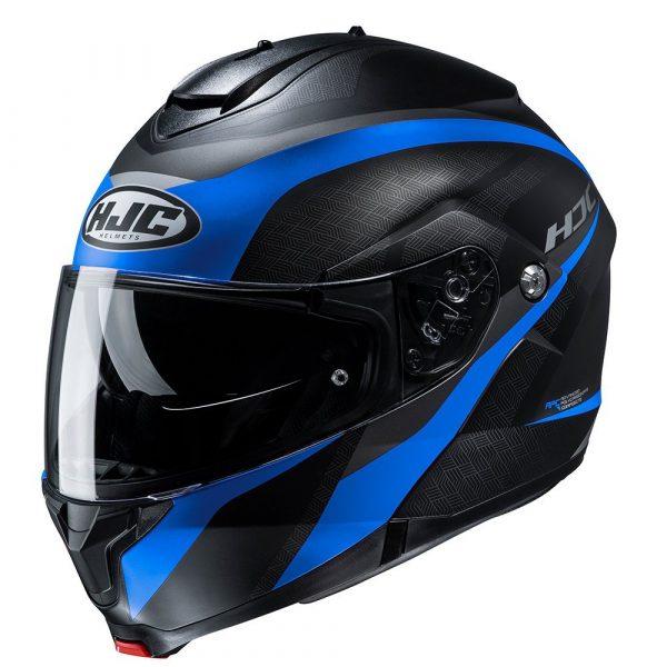 HJC C91 Helmet - Taly Blue/Black colour, MCS