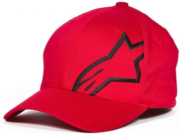 Alpinestars Corp Shift 2 Flexfit Hat - Black/Red colour