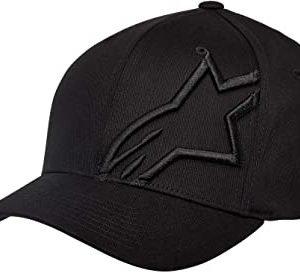 Alpinestars Corp Shift 2 Flexfit Hat - Black/Black colour, MCS, London