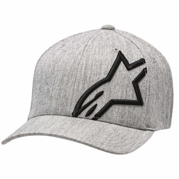 Alpinestars Corp Shift 2 Flexfit Hat - Grey Heather/Black colour