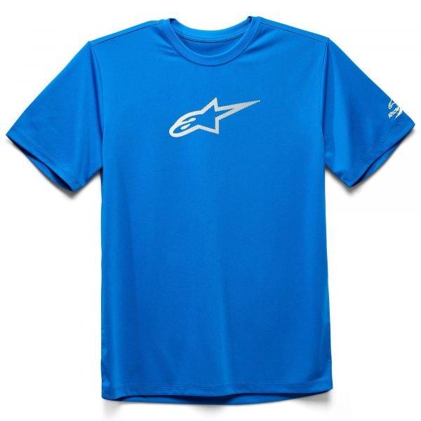 Alpinestars Tech Ageless Performance T-Shirt - Bright Blue colour