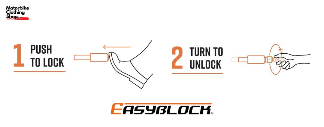Easy Block Lock - Scooter Wheel Security-2