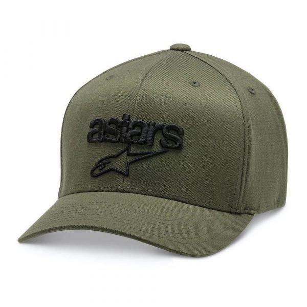 Alpinestars Heritage Blaze Hat - Military/Black colour