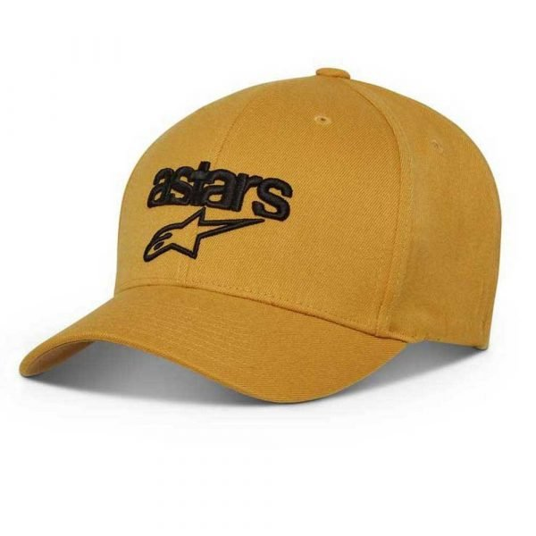 Alpinestars Heritage Blaze Hat - Mustard/Black colour
