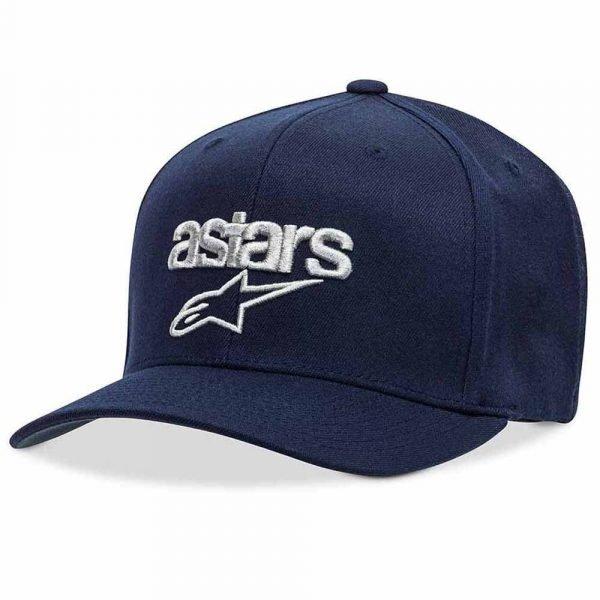 Alpinestars Heritage Blaze Hat - Navy/Grey colour