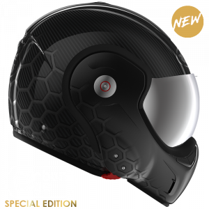 Roof RO9 Boxxer Carbon Cage Black Metal Helmet - MCS, Chelsea