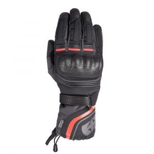 Oxford Montreal 4.0 MS Dry2Dry Gloves - Black/Grey/Red colour, CMG