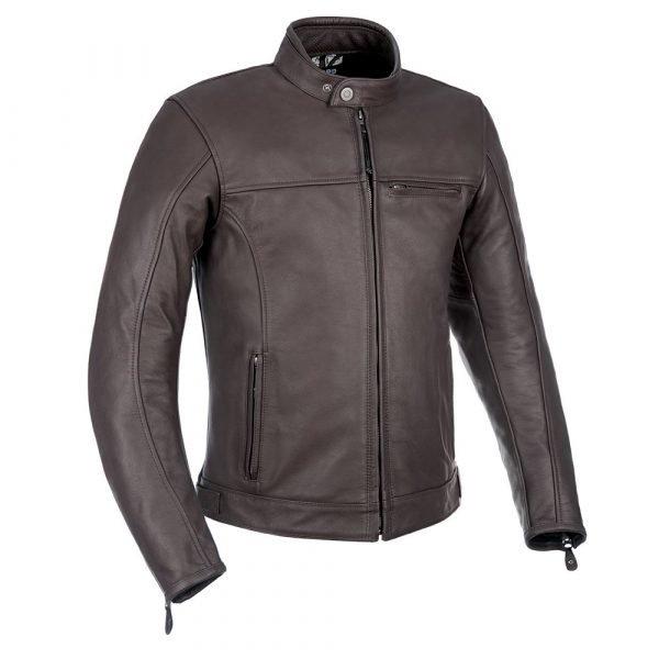 Oxford Walton MS Leather Jacket – Brown colour, Chelsea