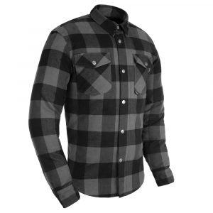 Oxford Kickback 2.0 MS Shirt - Grey colour, Motorcycles Clothing Shop