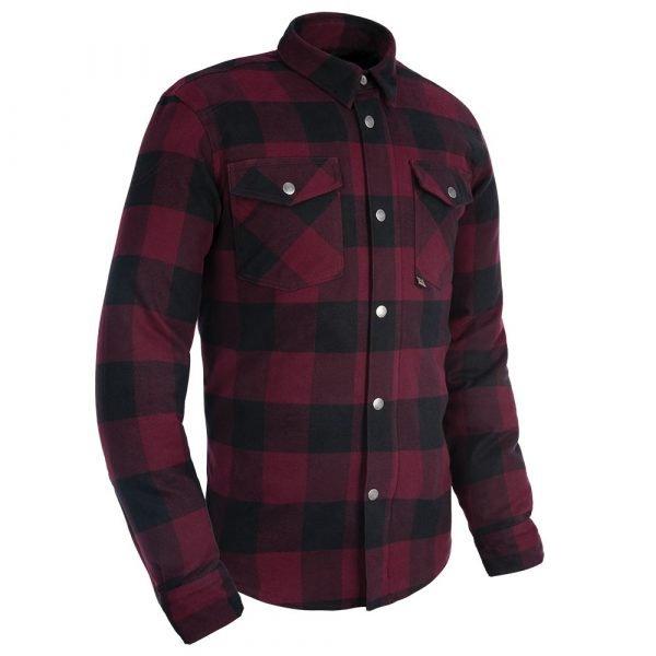 Oxford Kickback 2.0 MS Shirt - Red colour, UK