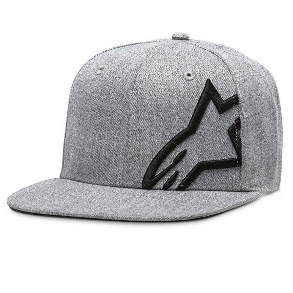 Alpinestars Corp Snap 2 Hat - Charcoal/Black colour, UK