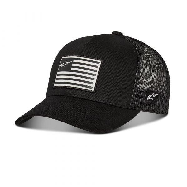 Alpinestars Flag Snapback Hat - Military/Black colour, MCS, UK