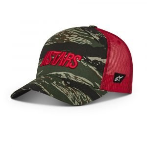 Alpinestars Tropic Hat - Military/Red colour, Chelsea
