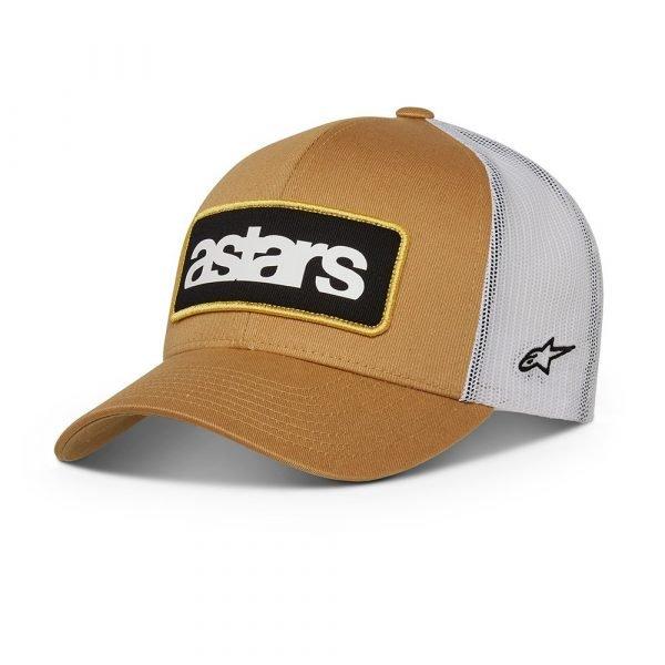Alpinestars Manifest Trucker Hat - Mustard/White colour, UK