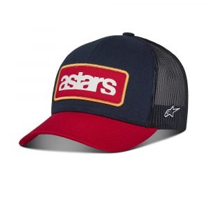 Alpinestars Manifest Trucker Hat - Navy/Red colour, Chelsea