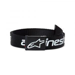 Alpinestars Linear Web Belt - Black/White colour, MCS