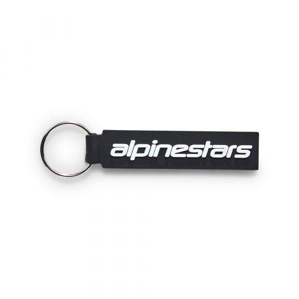 Alpinestars Linear Key Fob - Black colour, Chelsea Accessories, London