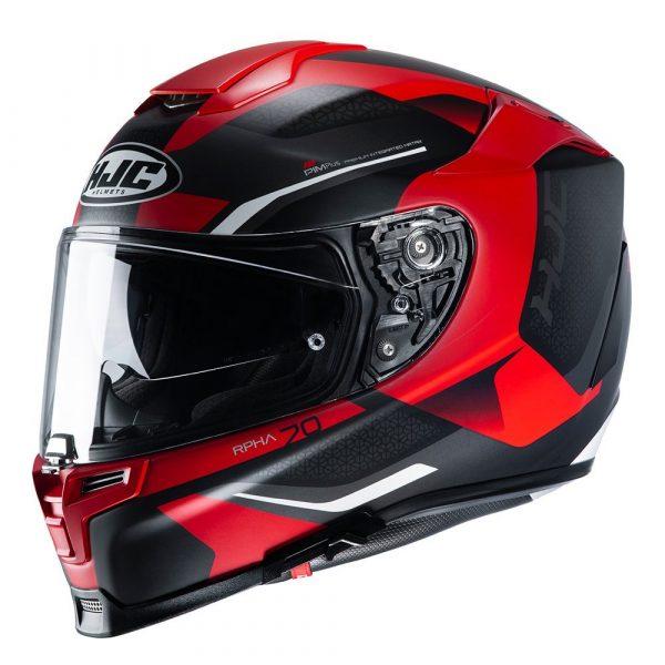 HJC RPHA 70 Kroon Helmet - Red colour