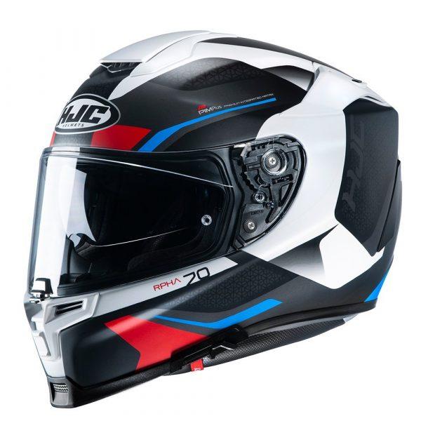 HJC RPHA 70 Kosis Helmet - Red/White/Blue colour, CMG Shop