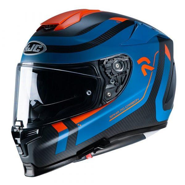 HJC RPHA 70 Reple Helmet - Blue/Orange colour