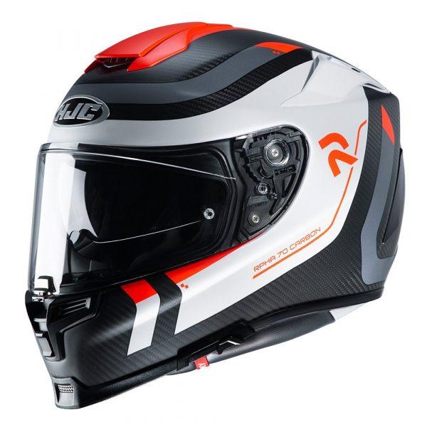 HJC RPHA 70 Reple Helmet - Orange colour, Chelsea, London, UK