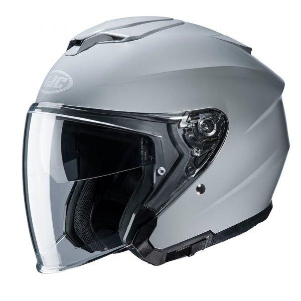 HJC i30 Helmet - Gloss Grey Colour, Chelsea, UK